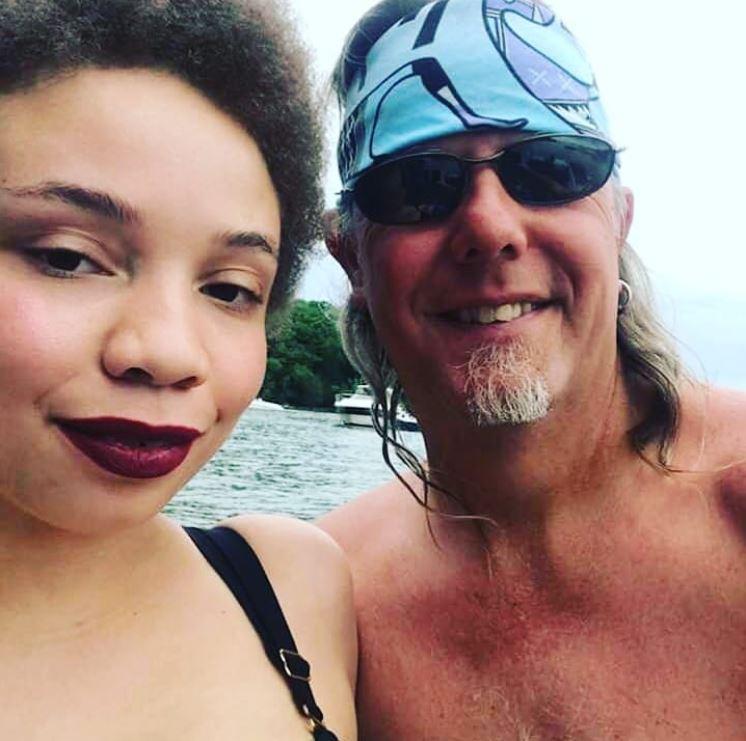 Mikaela & her fiance Chuck Pankow